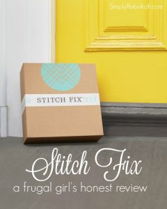 Stitch Fix: A Frugal Girl's Honest Review