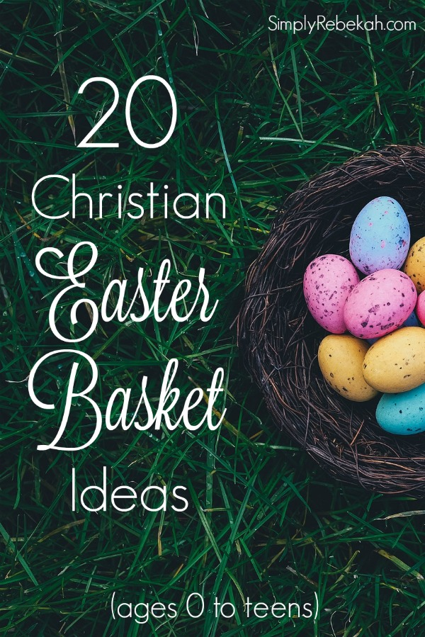 20 christian easter basket ideas simply rebekah add extra meaning to your kids easter baskets with these christian gift ideas negle Images