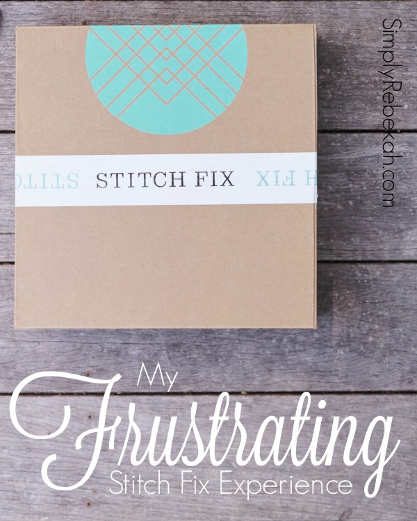 How to prevent this frustrating Stitch Fix experience