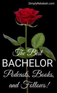 The Best Bachelor Podcasts, Books, and Follows!