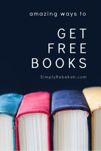 Amazing Ways to Get Free Books